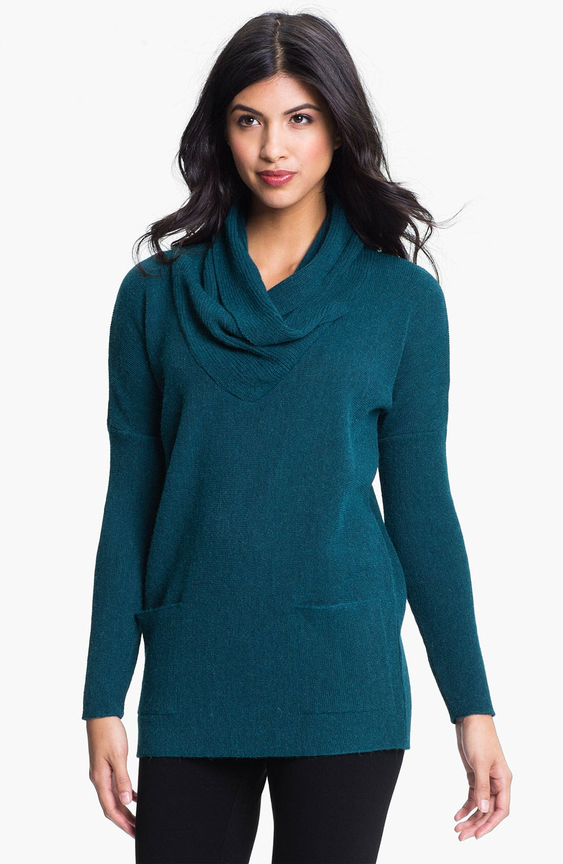 Alternate Image 1 Selected - Beyond Threads Draped Collar Tunic
