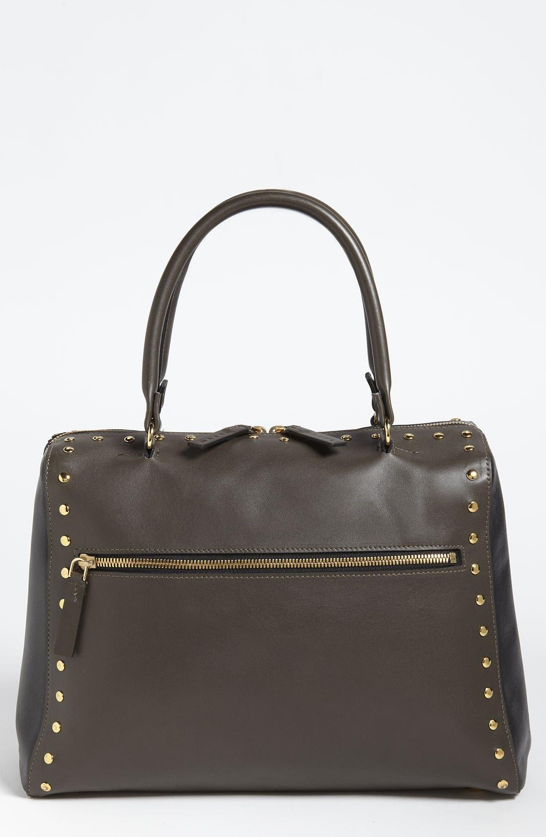 Alternate Image 1 Selected - Marni Studded Leather Satchel