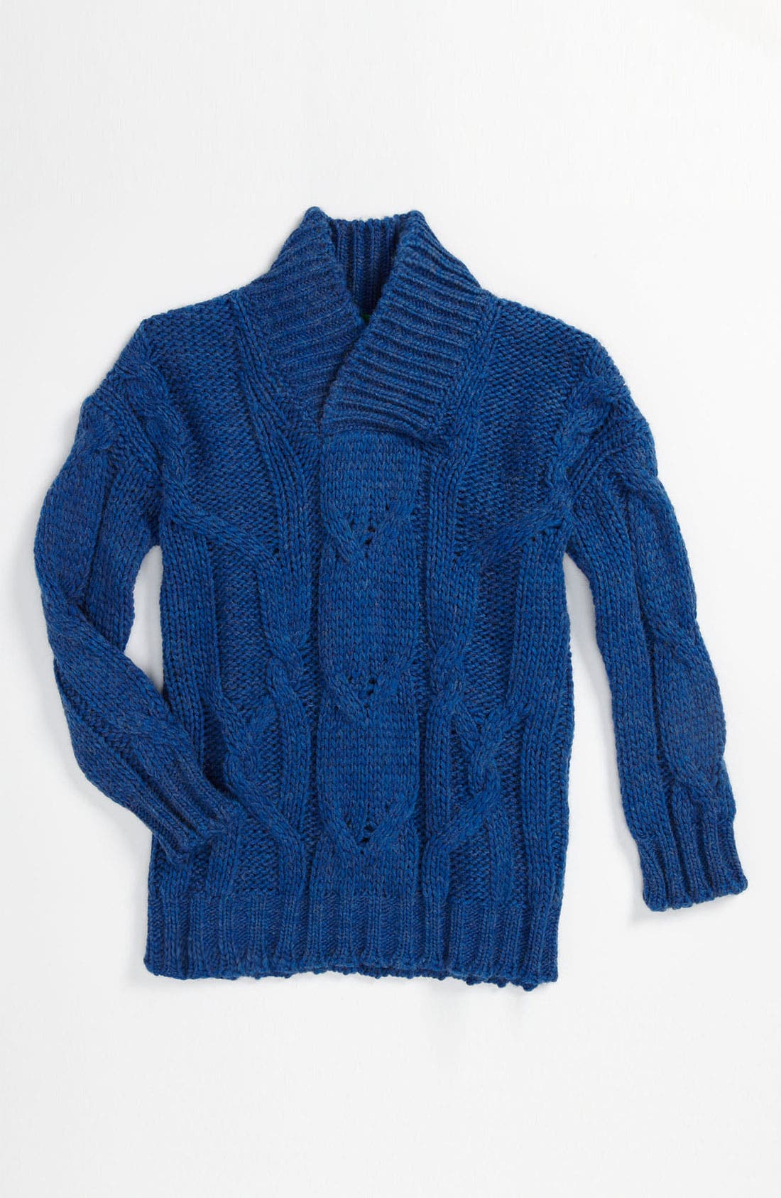 Alternate Image 1 Selected - United Colors of Benetton Kids Cable Knit Sweater (Little Boys & Big Boys)
