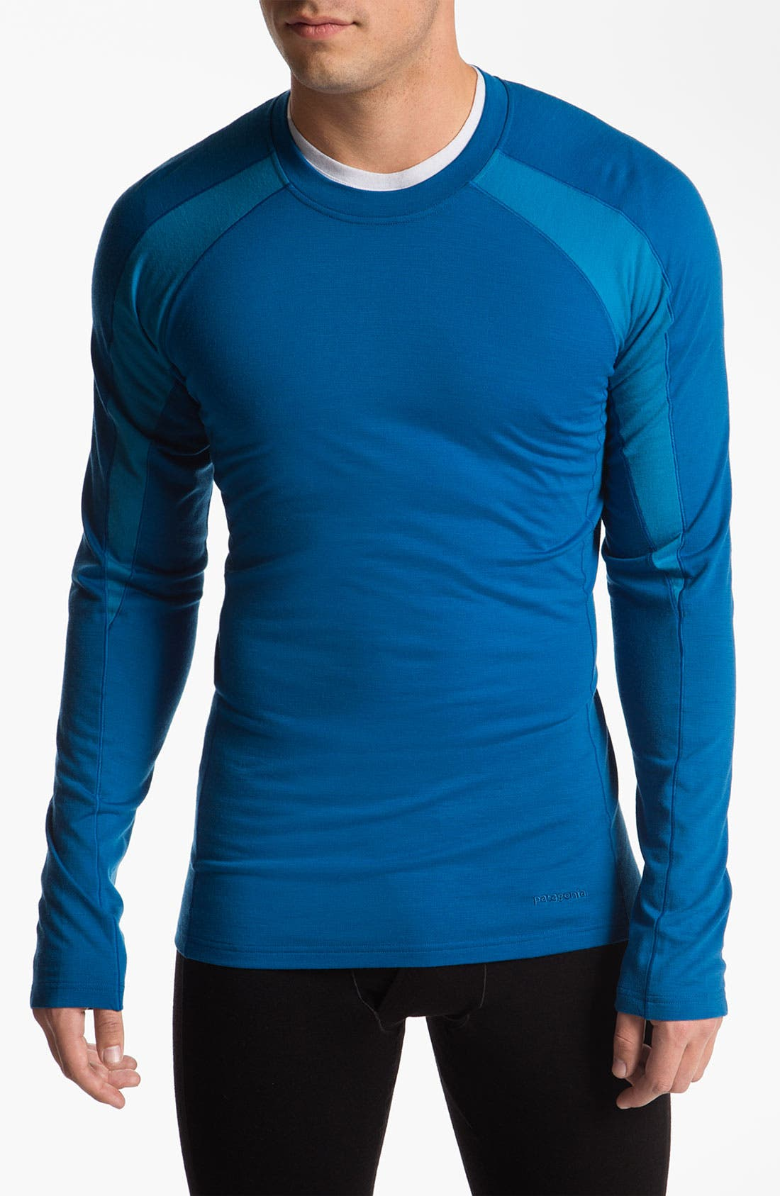 Alternate Image 1 Selected - Patagonia 'Merino 2' Long Sleeve T-Shirt (Online Only)