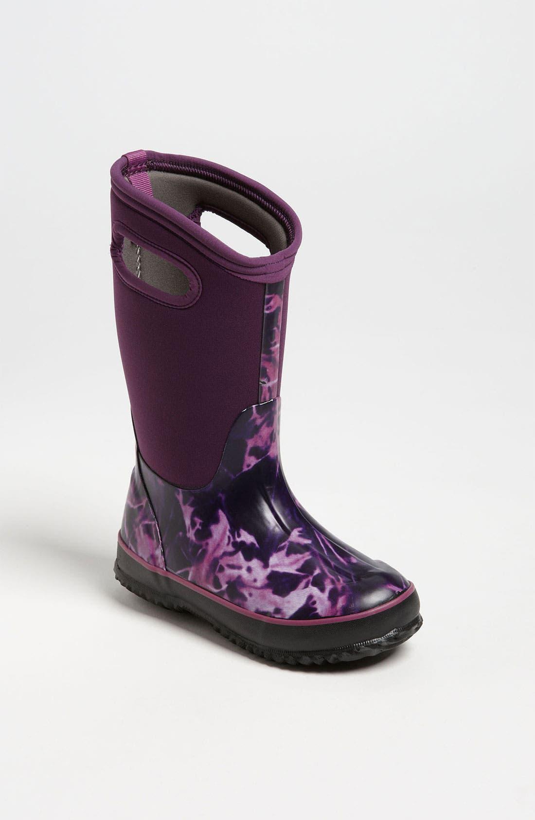 Alternate Image 1 Selected - Bogs 'Classic High - Batik' Waterproof Boot (Toddler, Little Kid & Big Kid)