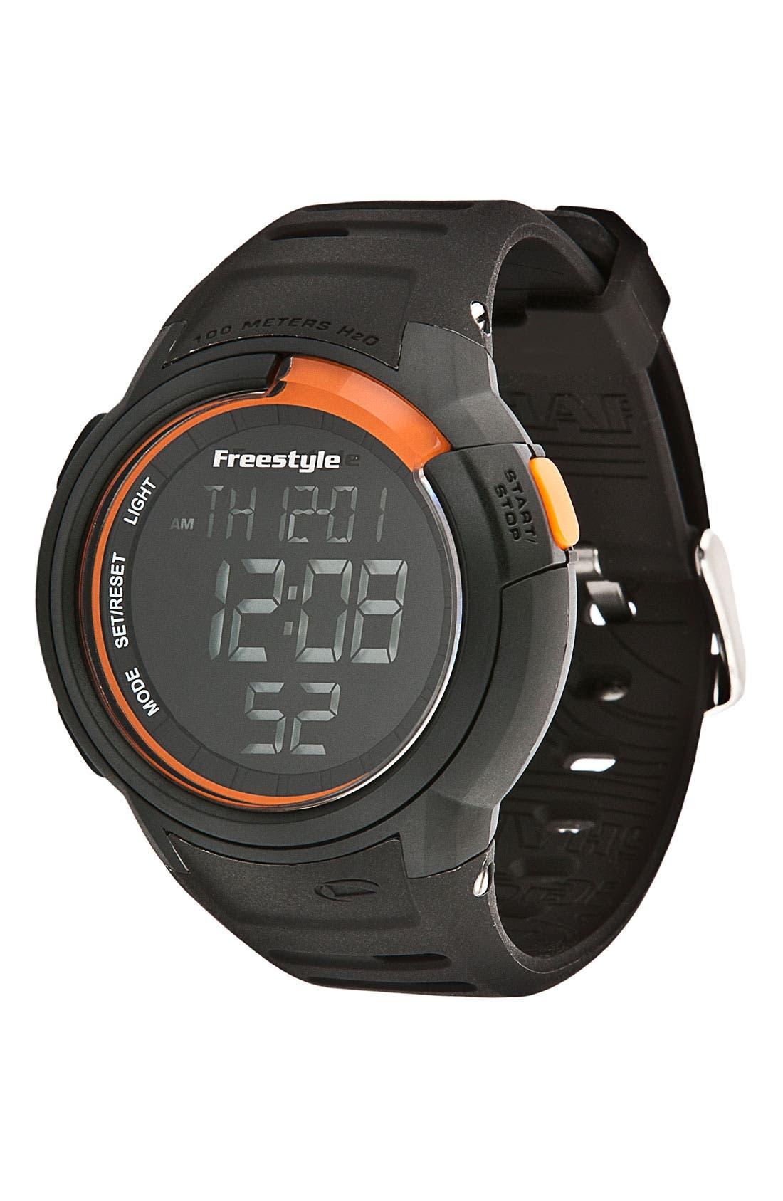 Alternate Image 1 Selected - Freestyle 'Mariner' Digital Sport Watch, 46mm
