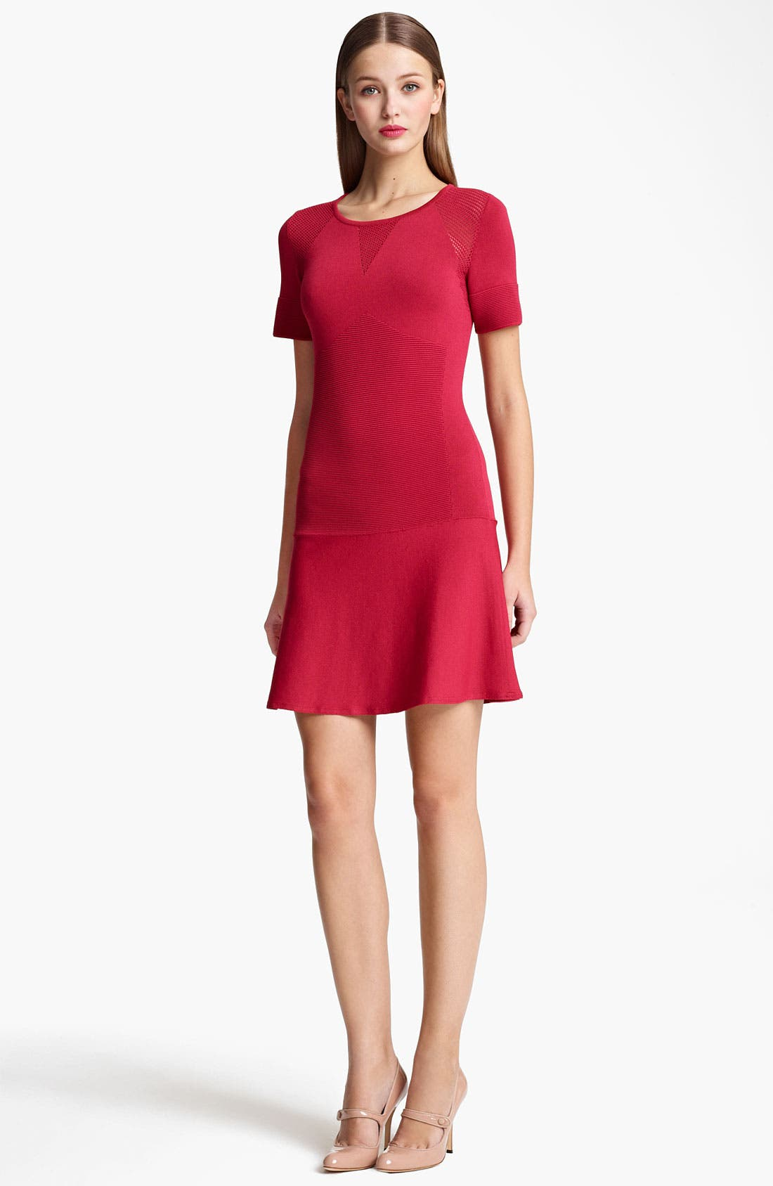 Main Image - Moschino Cheap & Chic Drop Waist Knit Dress