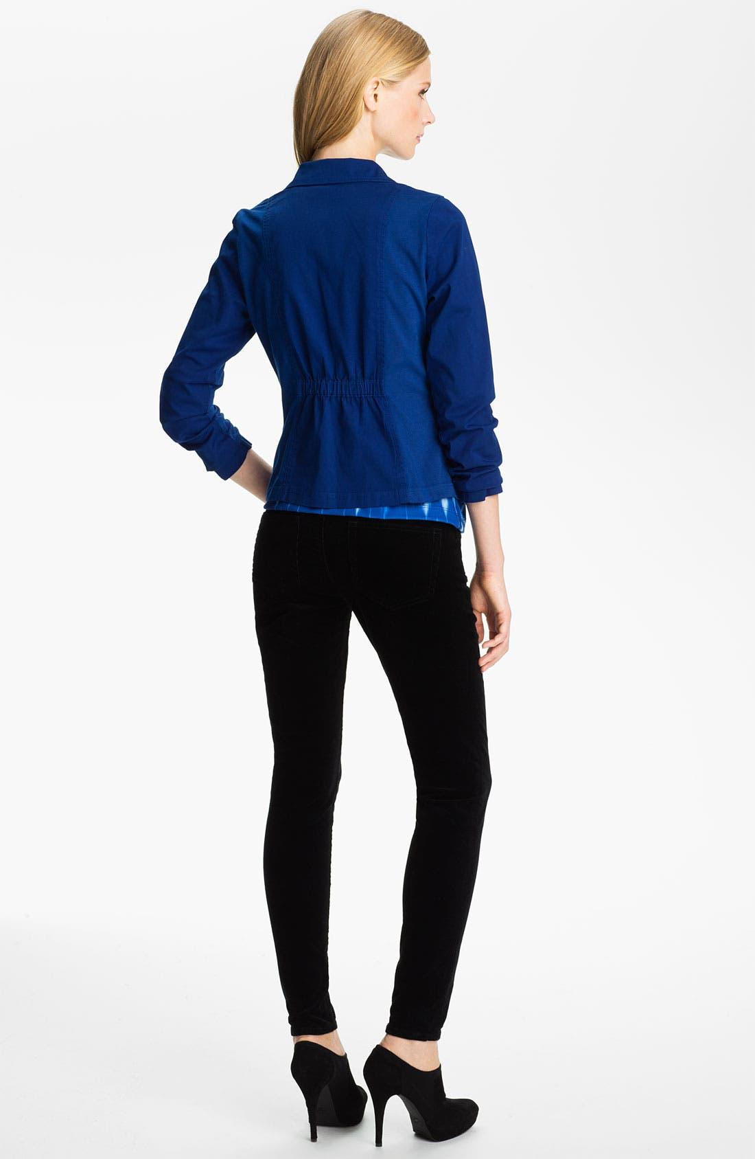 Alternate Image 5  - Jag Jeans 'Nikki' Corduroy Leggings (Petite)