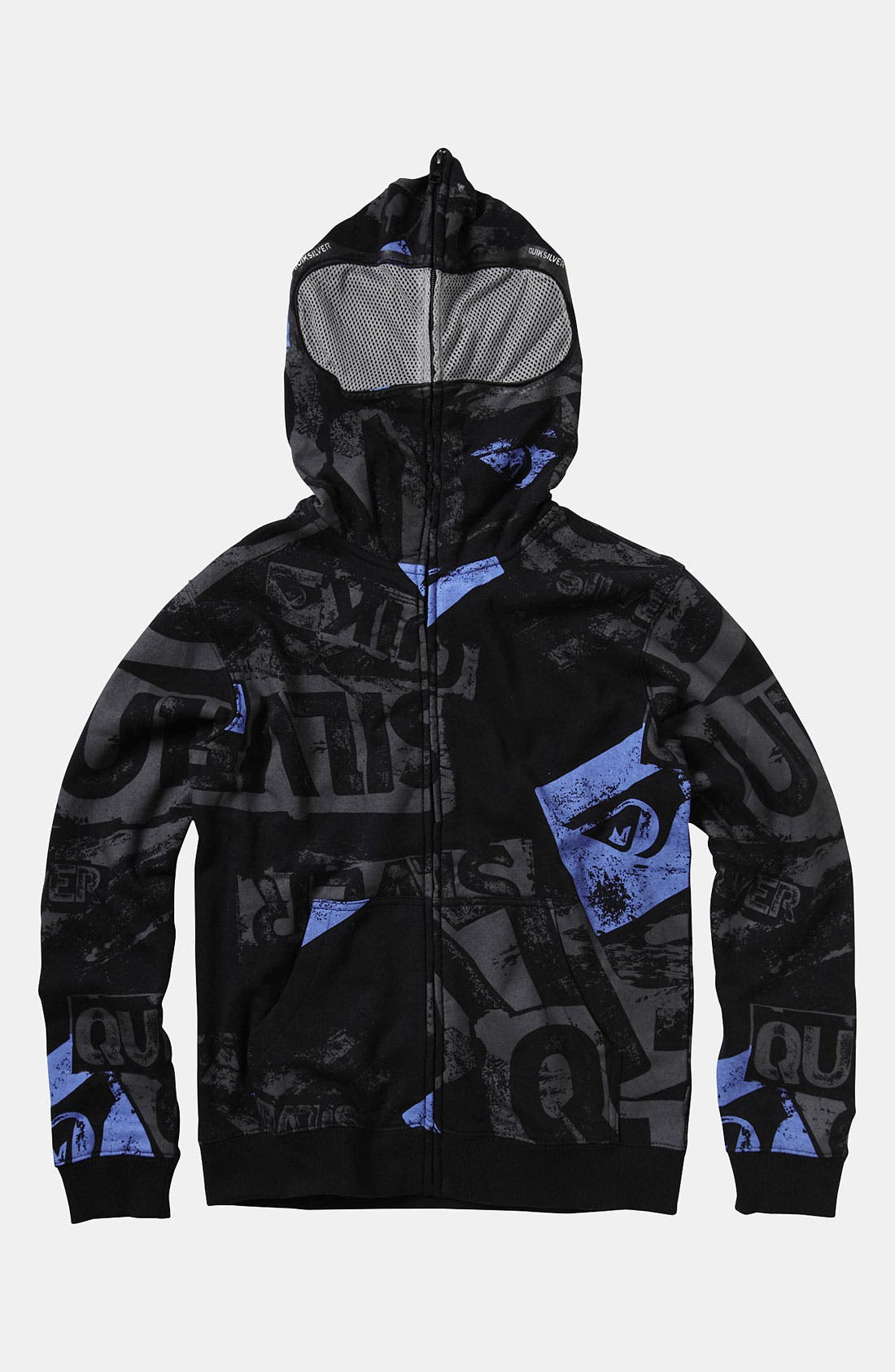 Alternate Image 1 Selected - Quiksilver 'Sandy Goggles' Mask Hoodie (Little Boys)