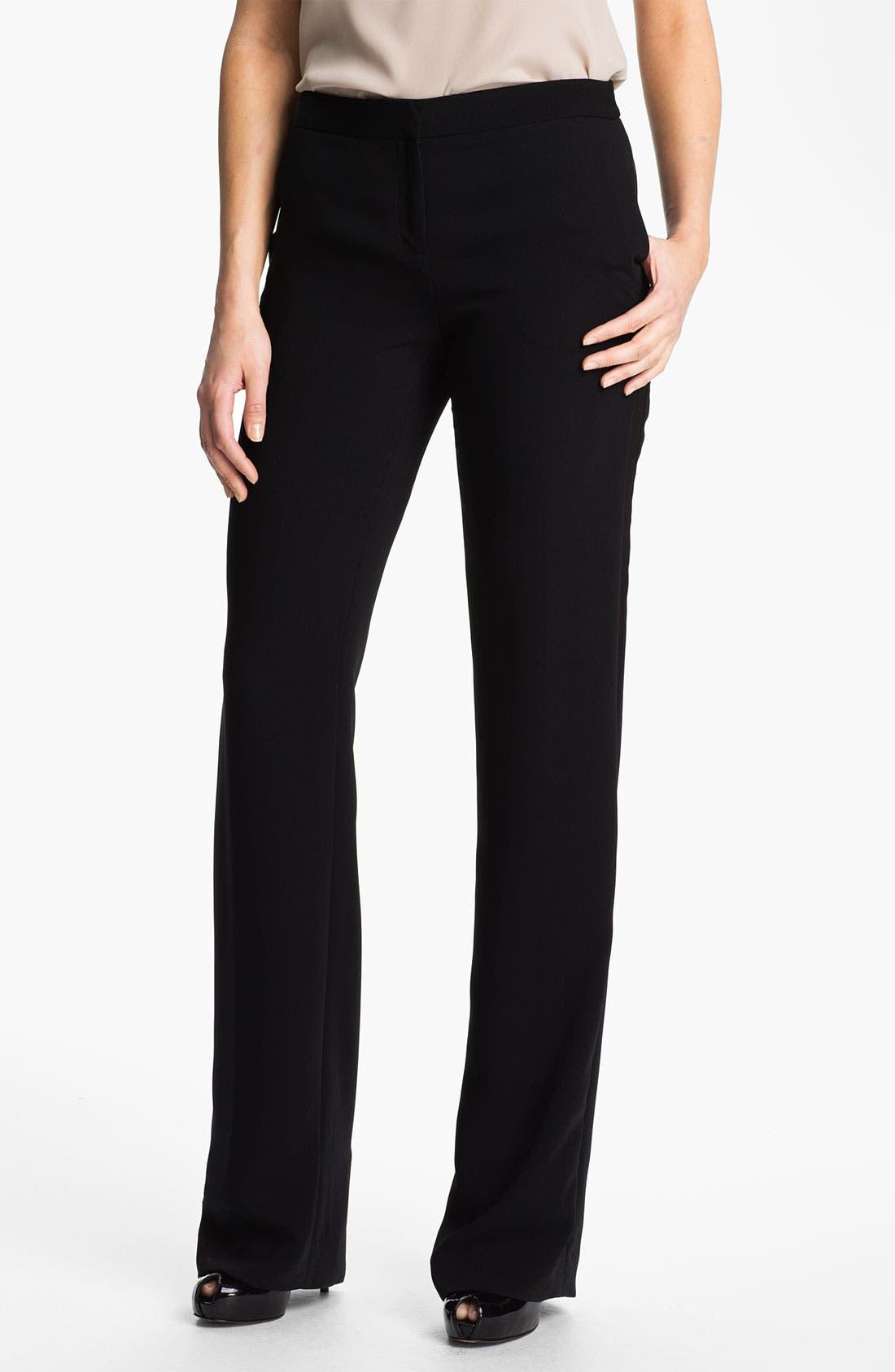 Main Image - Anne Klein Tuxedo Pants (Petite)