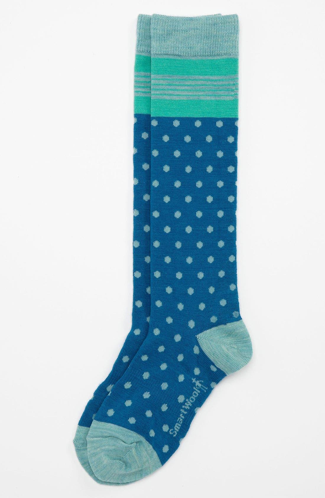 Main Image - Smartwool 'Oui Mademoiselle' Knee Socks (Little Girls & Big Girls)