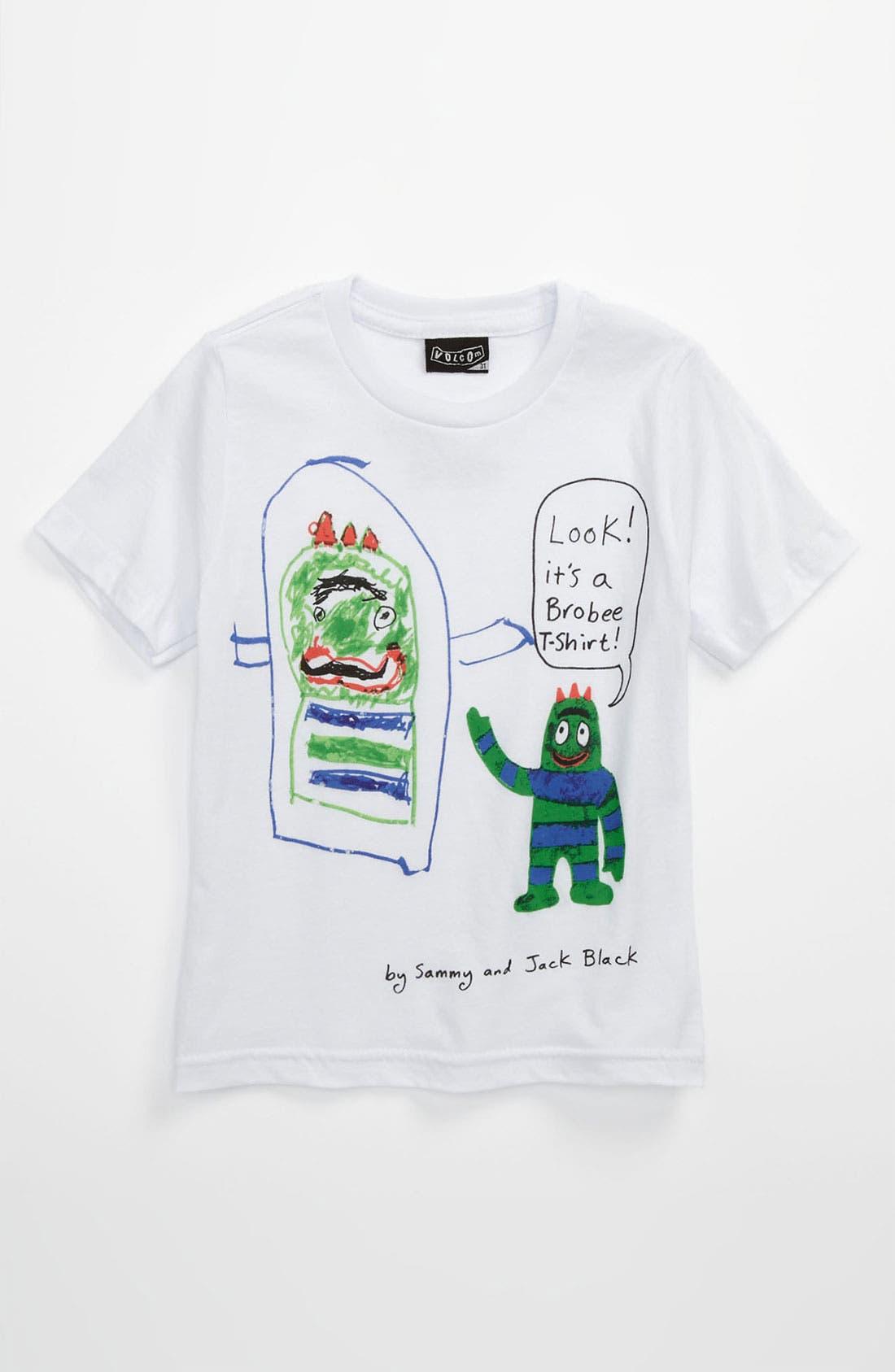 Alternate Image 1 Selected - Volcom 'Yo Gabba Gabba!™ Brobee™' T-Shirt (Toddler)