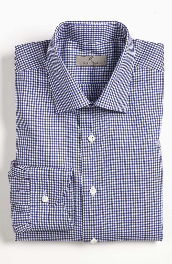 Canali modern fit dress shirt nordstrom for Modern fit dress shirt