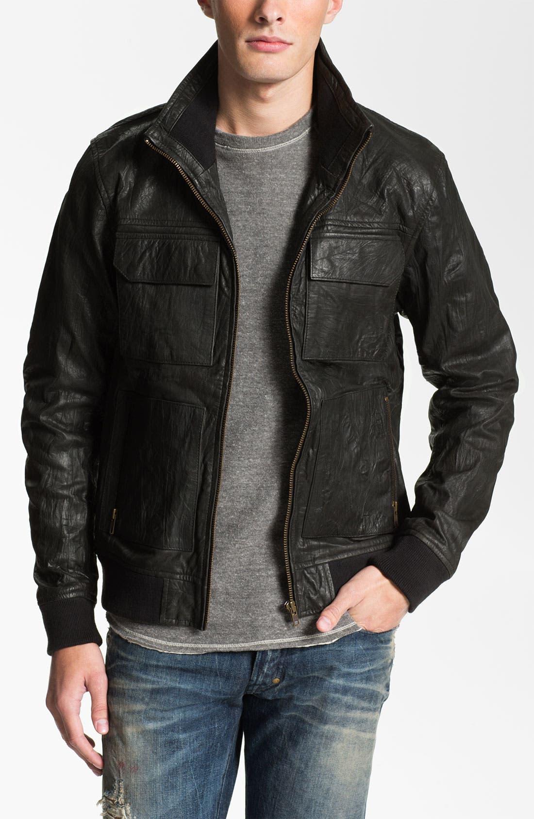 Alternate Image 1 Selected - Zanerobe 'Buck' Leather Jacket