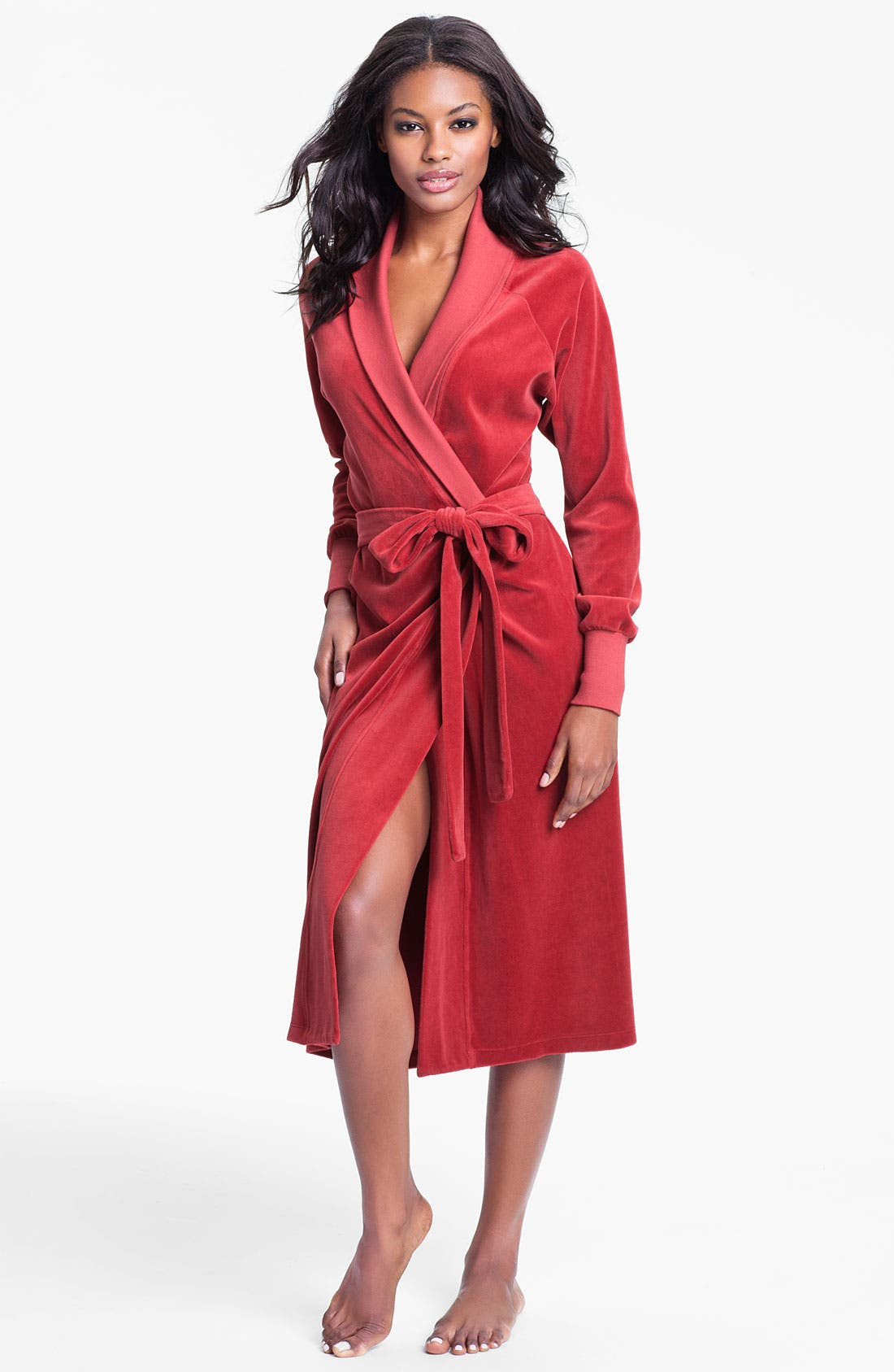 Main Image - Hermosa by Christina E. Long Velour Robe