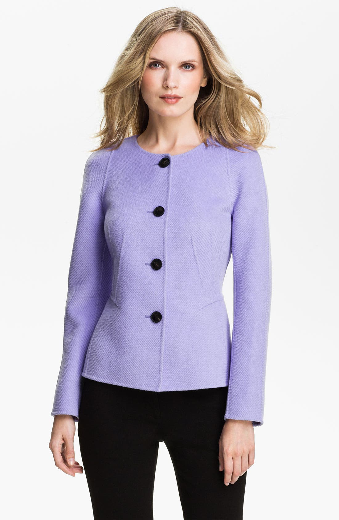 Alternate Image 1 Selected - Lafayette 148 New York Double Face Twill Jacket