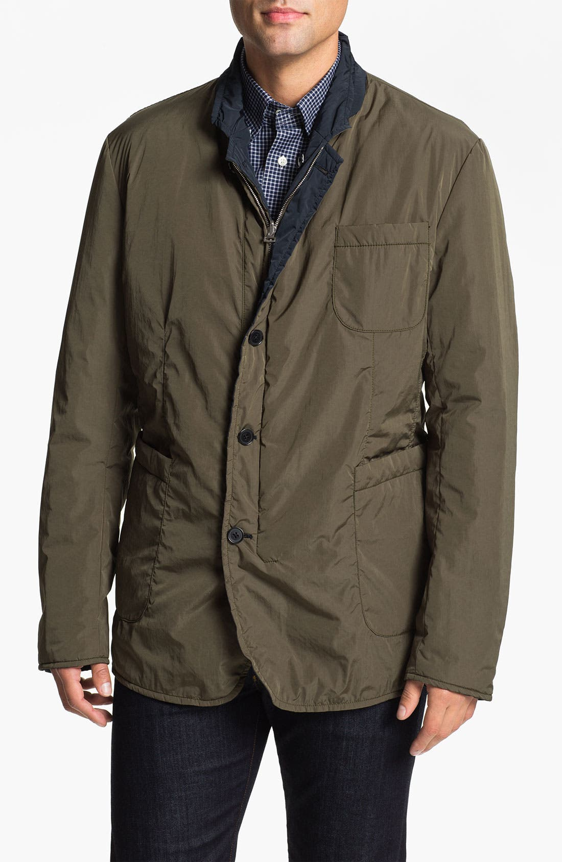 Alternate Image 4  - Façonnable Reversible Jacket