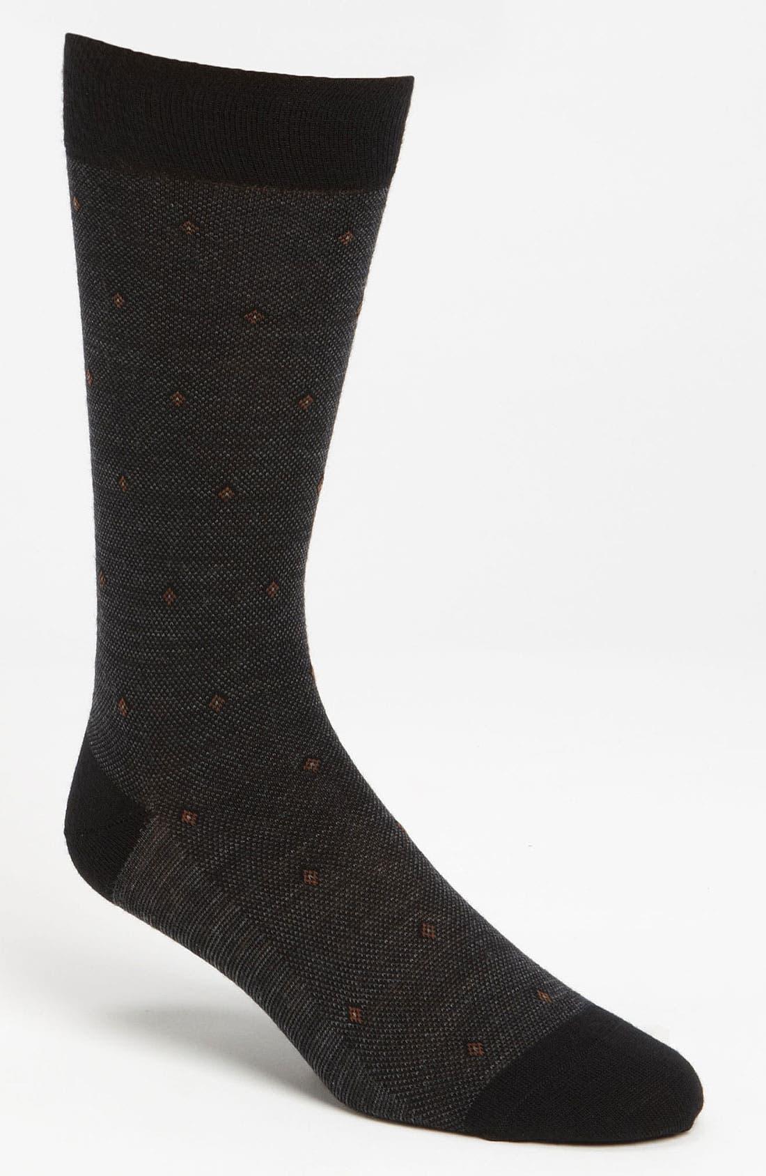 Alternate Image 1 Selected - Pantherella Bird's Eye Socks