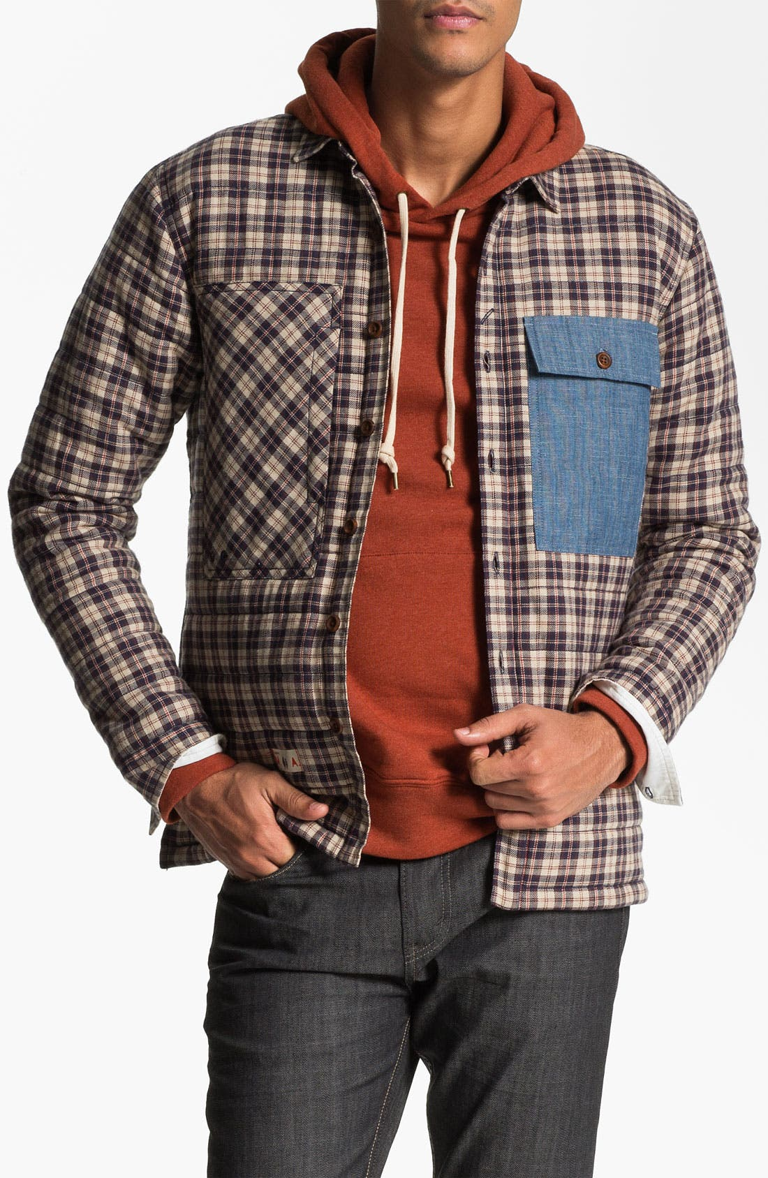 Main Image - Marshall Artist Quilted Shirt Jacket