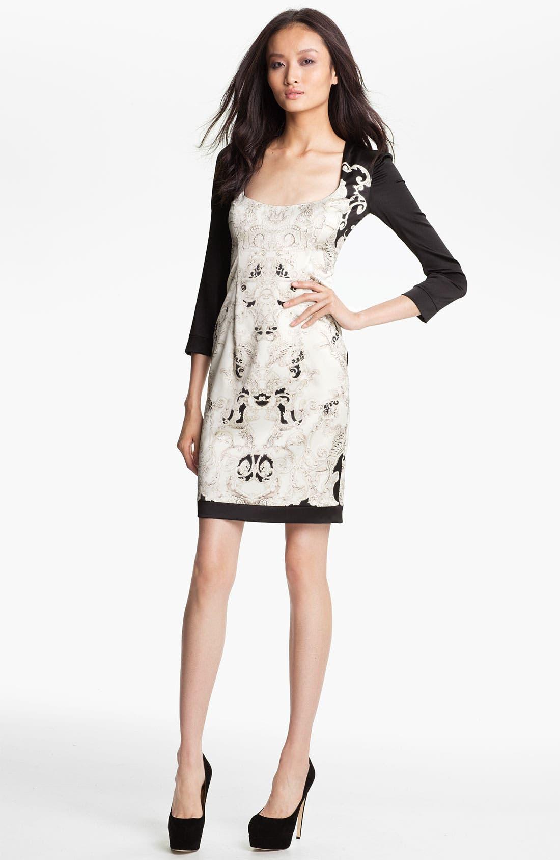 Alternate Image 1 Selected - Just Cavalli Print Sheath Dress