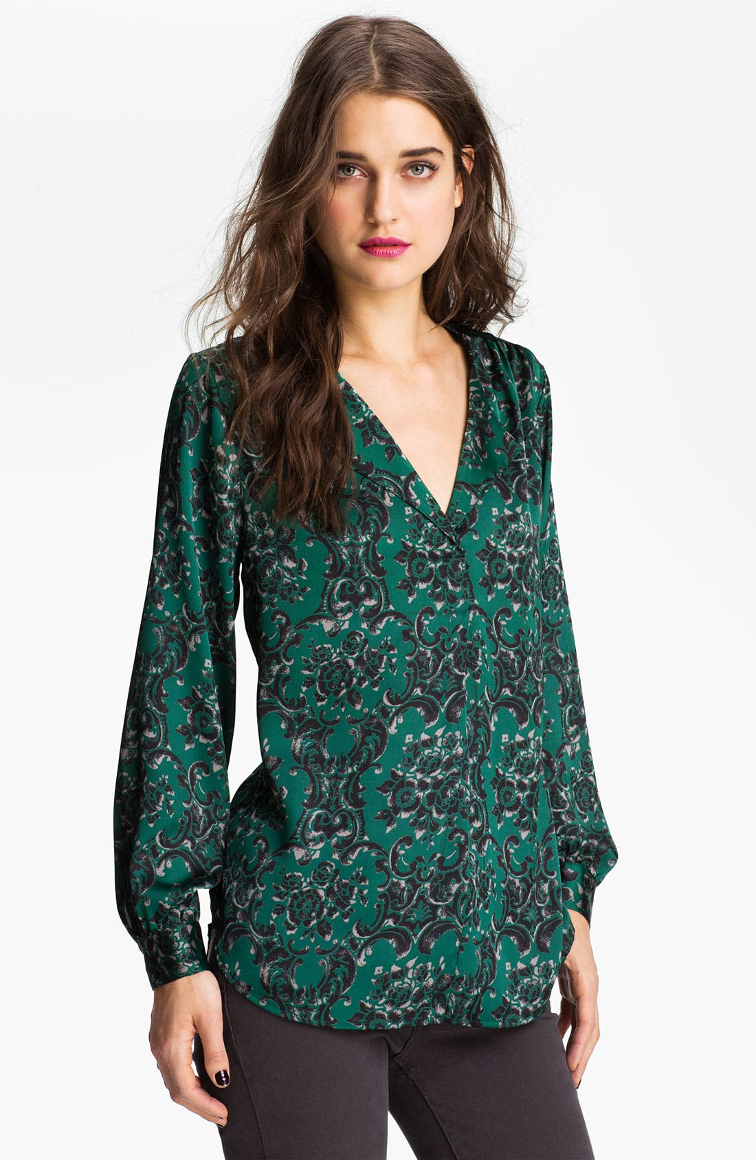 Alternate Image 1 Selected - Bellatrix Print Sheer Blouse