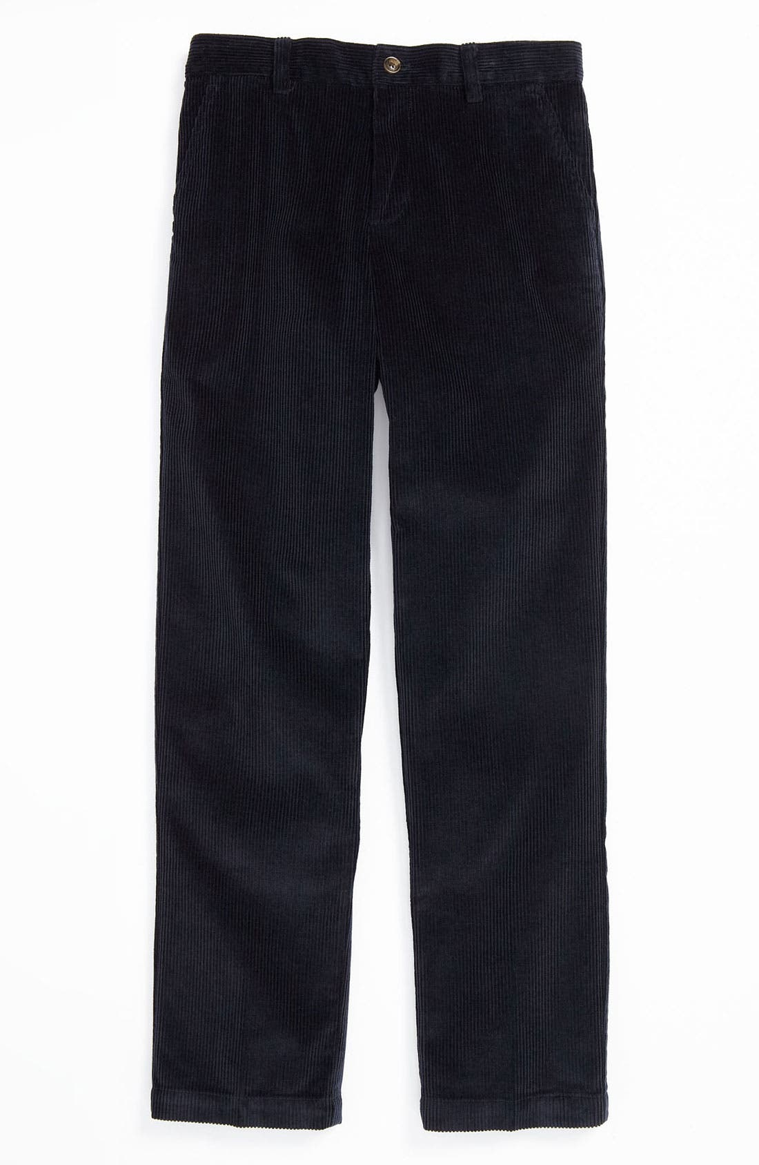 Main Image - Brooks Brothers Wide Wale Corduroy Pants (Big Boys)