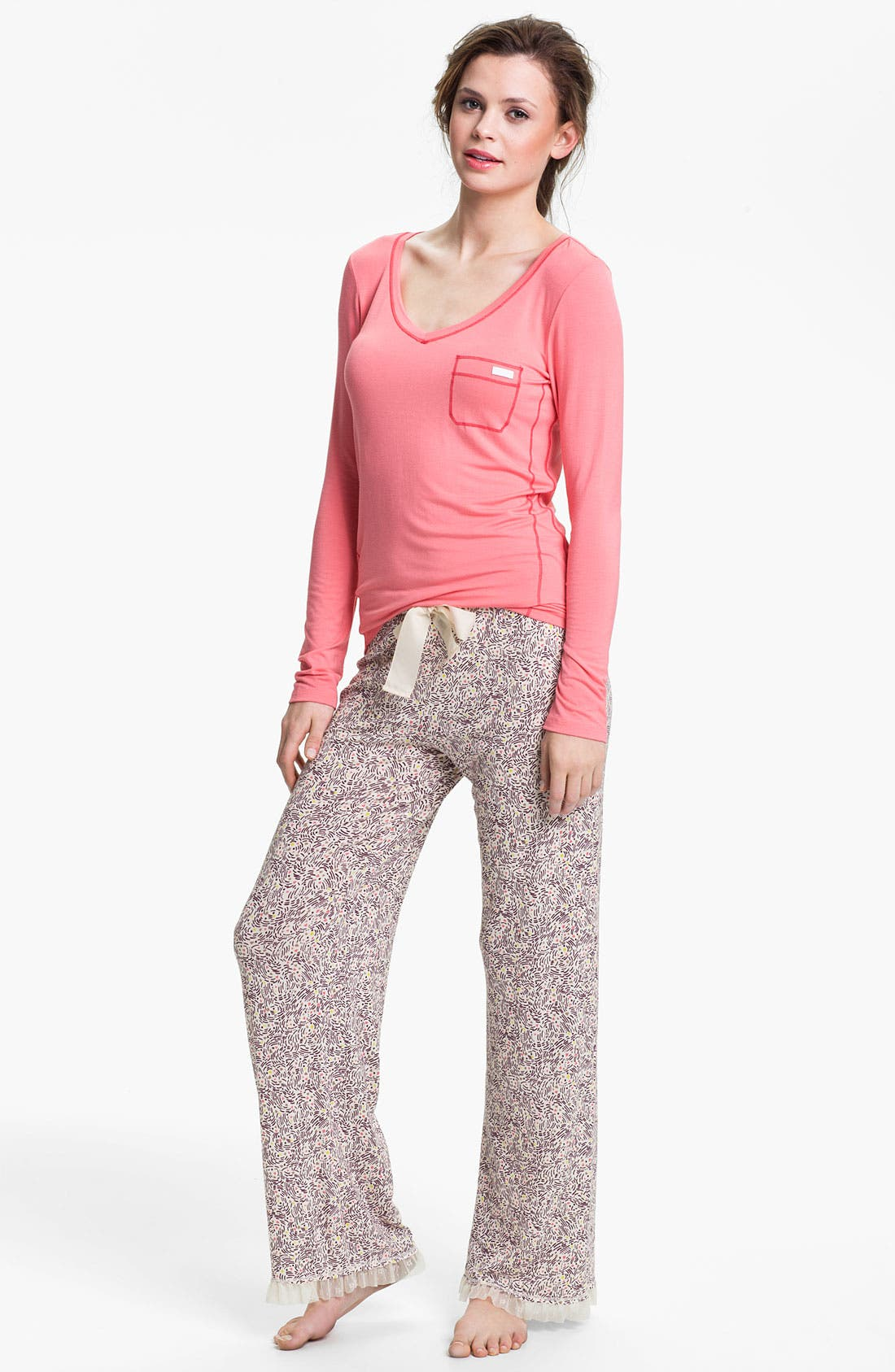Alternate Image 2  - Kensie 'Starry Eyes' Lounge Pants