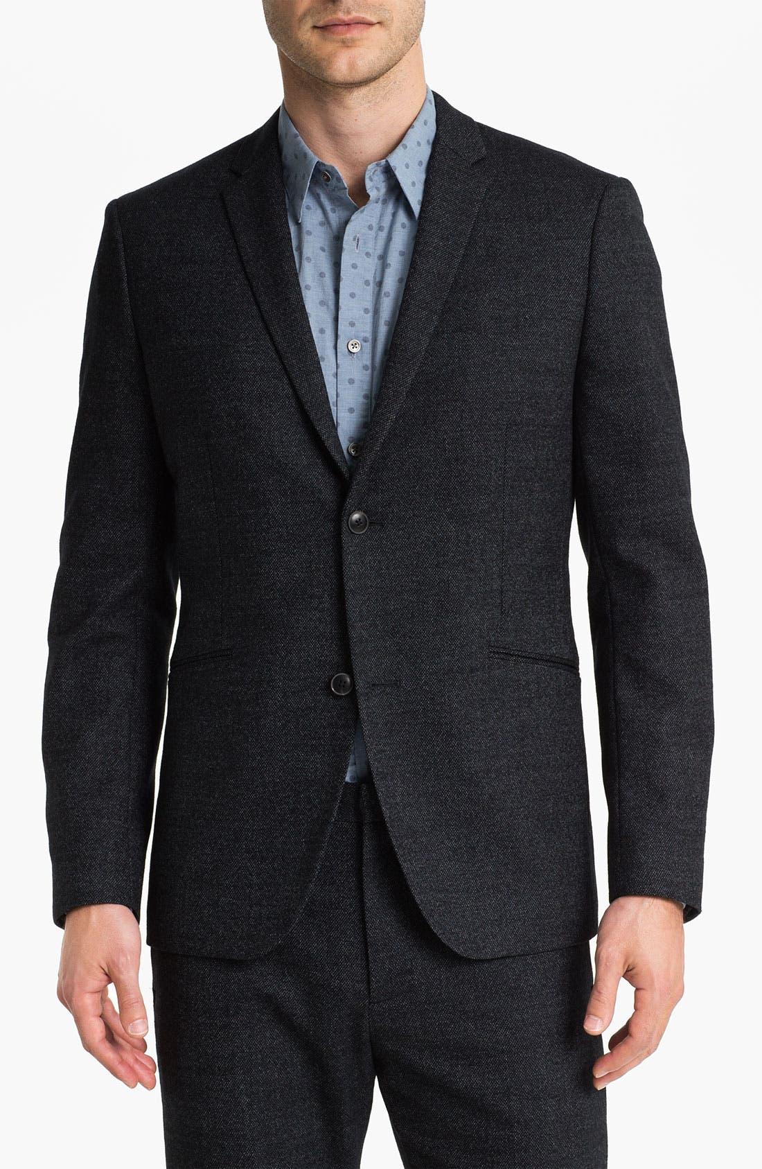 Main Image - Theory 'Rodolf Wolcott' Wool Blend Tweed Blazer