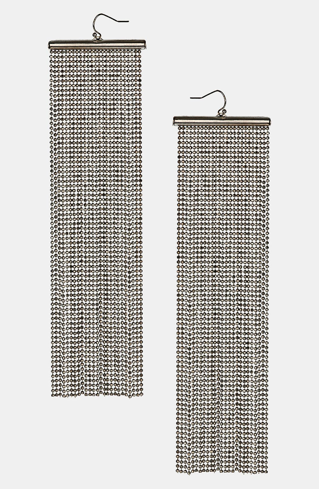 Alternate Image 1 Selected - Topshop 'Chain Cascade' Earrings