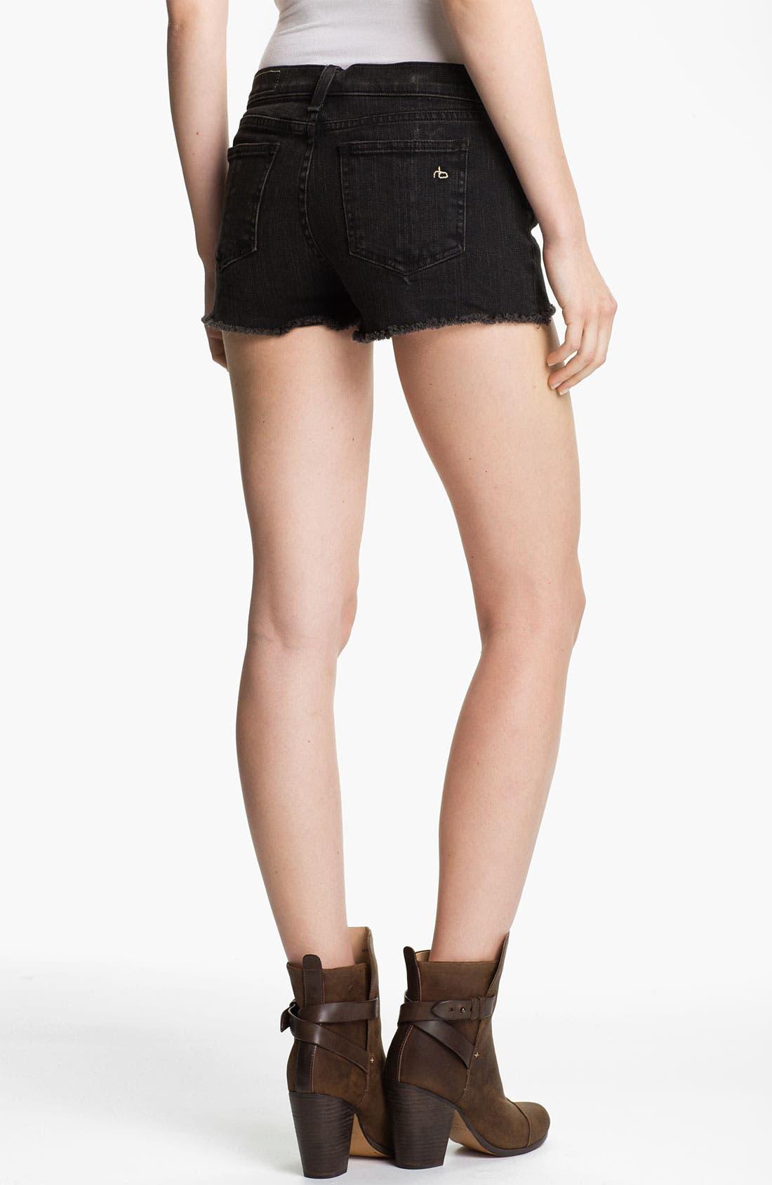 Alternate Image 2  - rag & bone 'Mila' Cutoff Denim Shorts