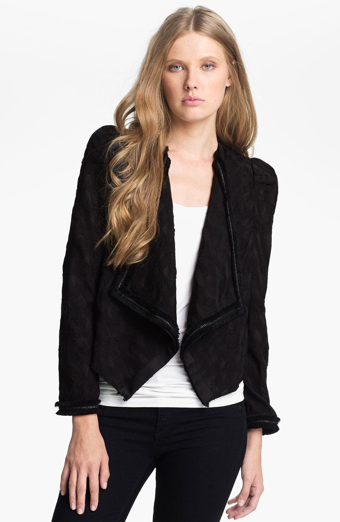 Main Image - Mcginn 'Harmony' Chain Trim Jacket (Nordstrom Exclusive)