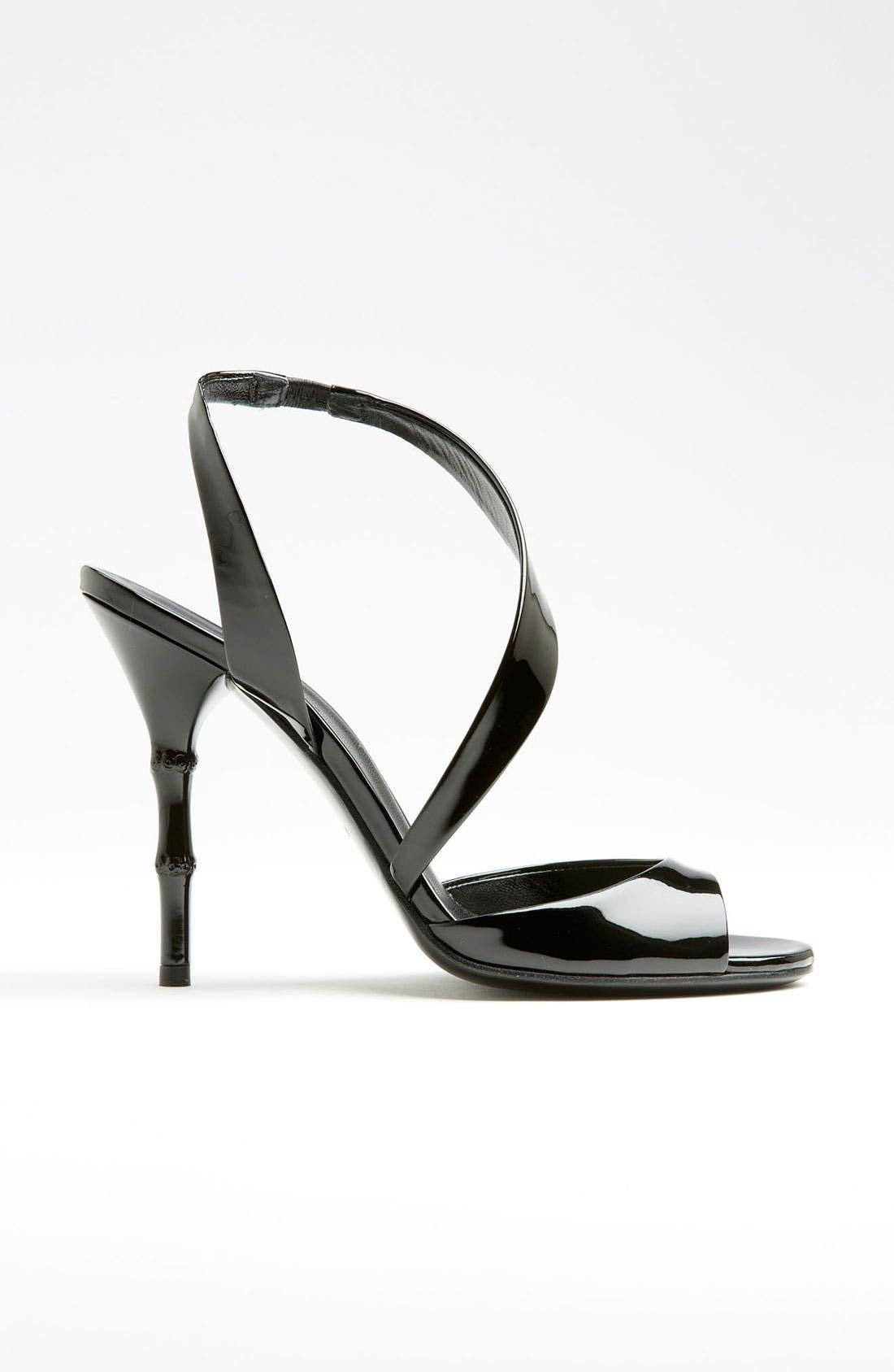 Alternate Image 4  - Gucci 'Linda' Bamboo Heel Sandal