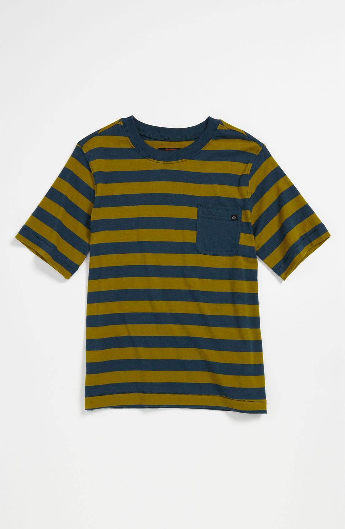 Alternate Image 1 Selected - Quiksilver 'Nolf' Crewneck T-Shirt (Little Boys)