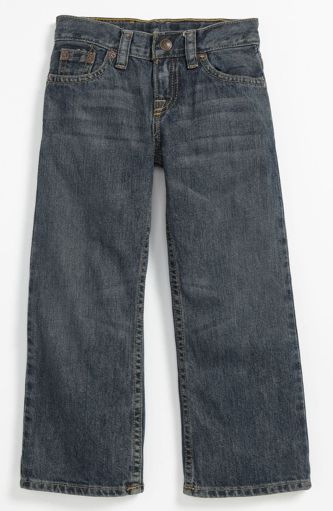Alternate Image 2  - Ralph Lauren Straight Leg Jeans (Toddler)