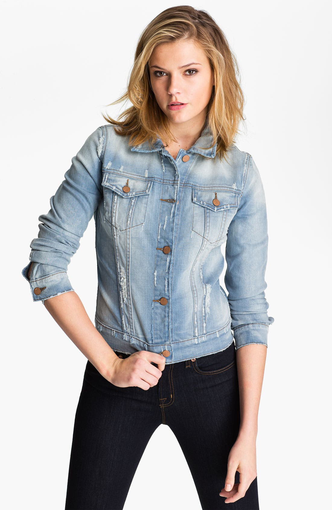 Alternate Image 1 Selected - J Brand Denim Jacket (Haven)