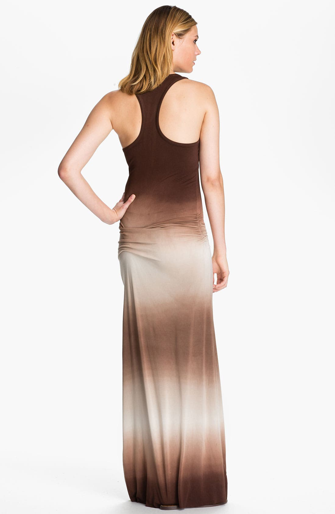 Alternate Image 2  - Young, Fabulous & Broke 'Hamptons' Ombré Maxi Dress