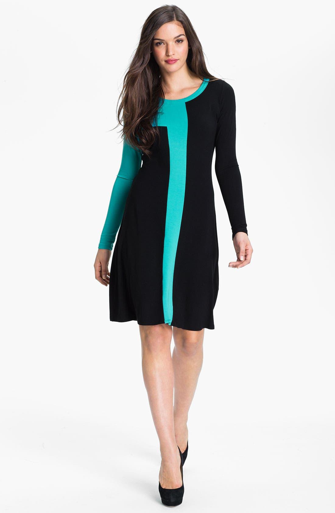 Alternate Image 1 Selected - Karen Kane Colorblock Dress
