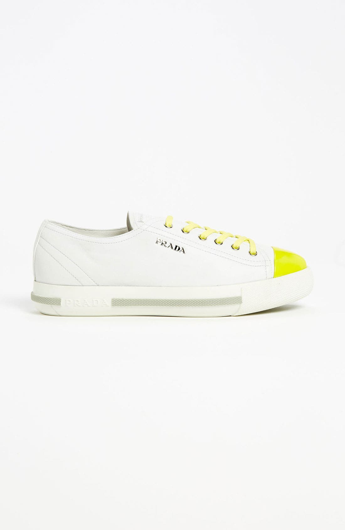 Alternate Image 4  - Prada Cap Toe Sneaker
