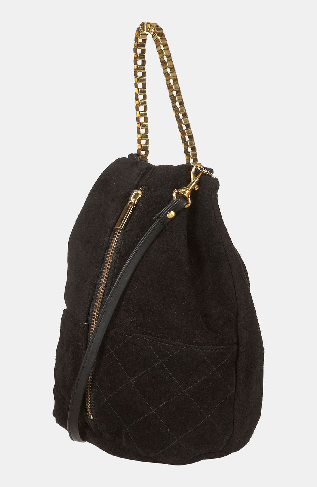 Alternate Image 1 Selected - Topshop Quilted Box Chain Crossbody Bag