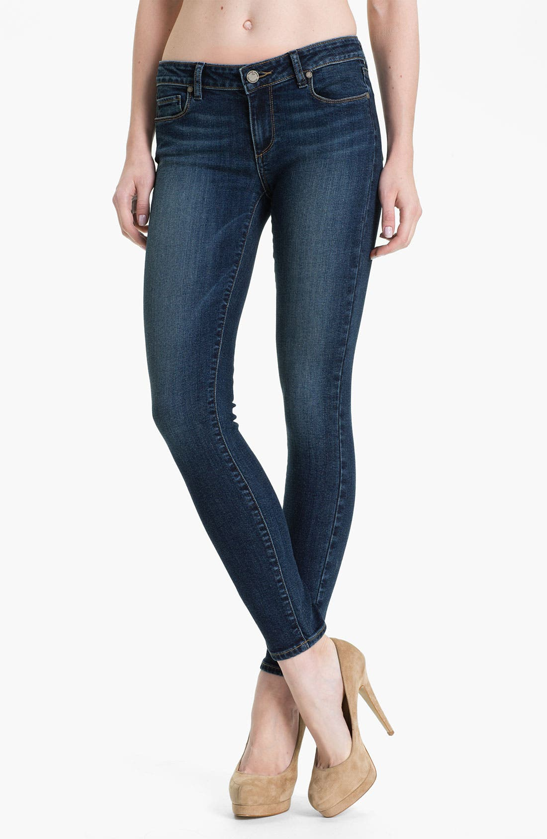 Alternate Image 1 Selected - Paige Denim 'Verdugo' Stretch Denim Skinny Jeans (Benny)