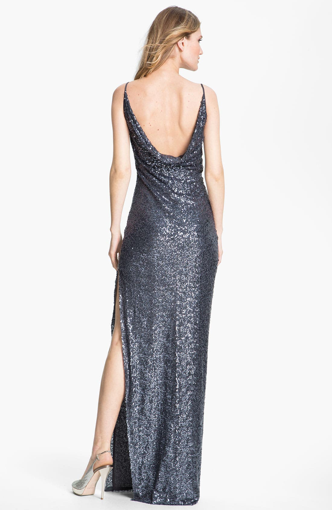 Alternate Image 2  - St. John Collection Sequin Gown