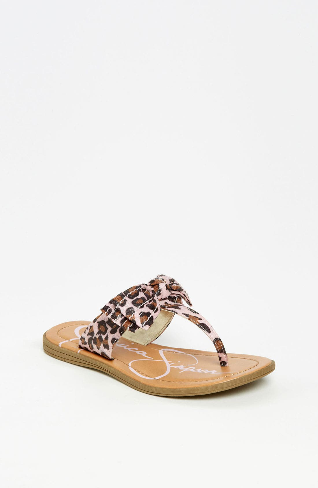 Alternate Image 1 Selected - Jessica Simpson 'Jumba' Sandal (Little Kid & Big Kid)