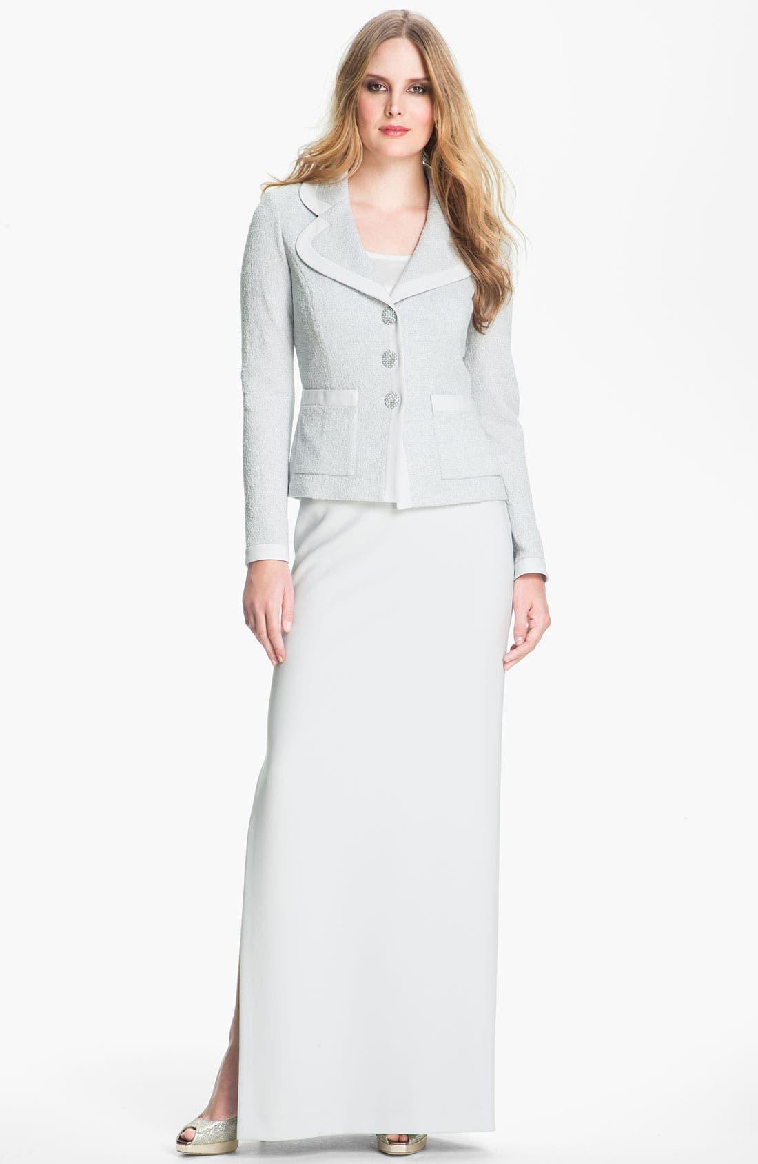 Alternate Image 1 Selected - St. John Collection Jacket, Shell & Skirt