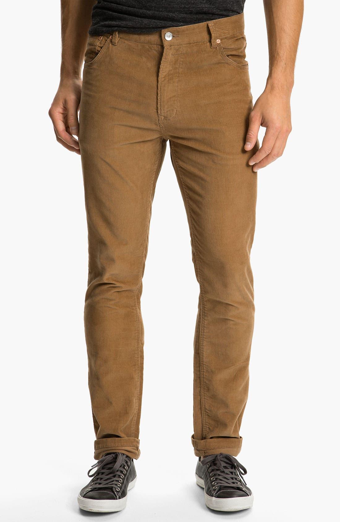 Alternate Image 2  - WeSC 'Eddy' Slim Fit Corduroy Pants
