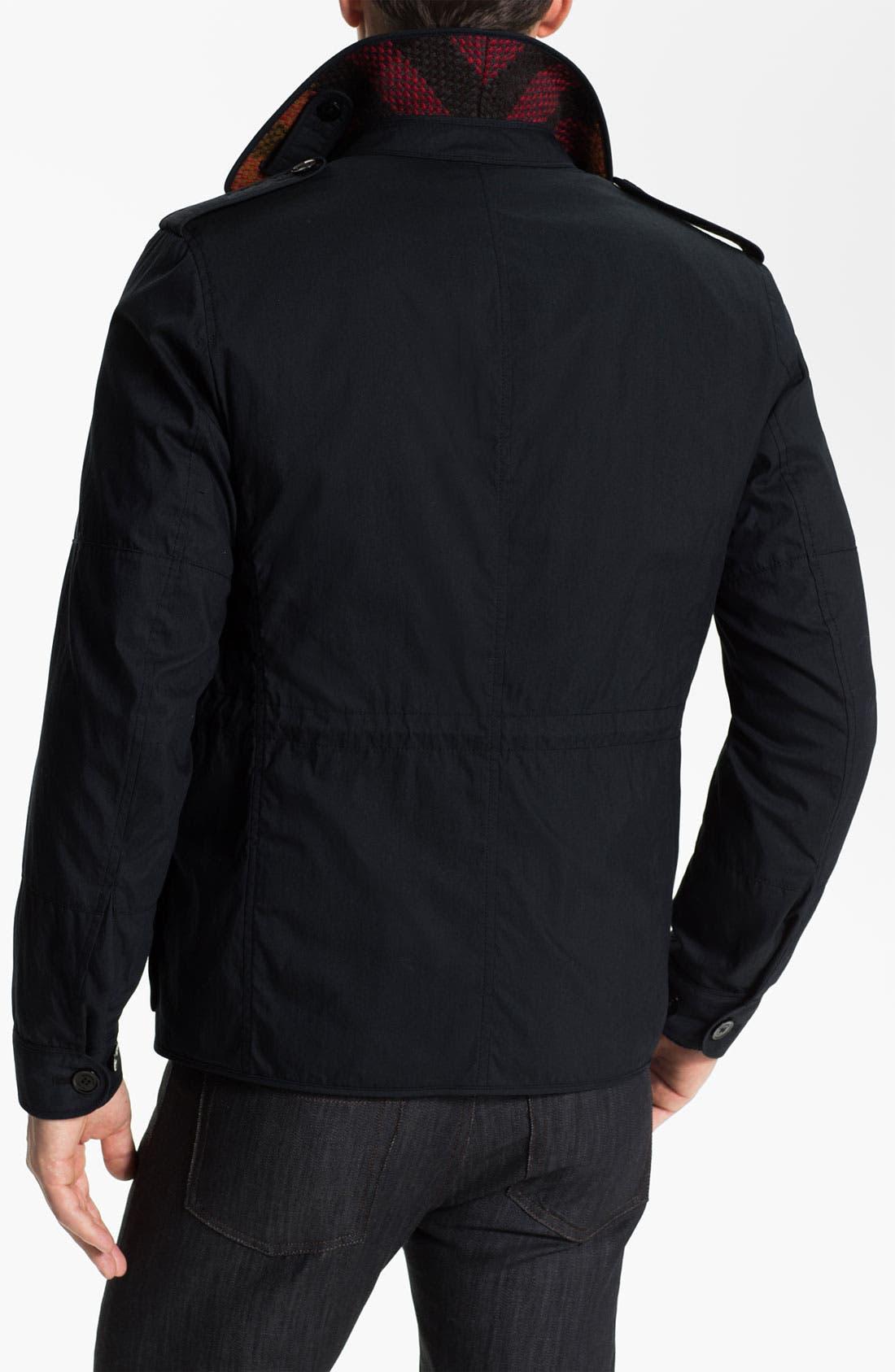 Alternate Image 2  - Burberry Brit Field Jacket