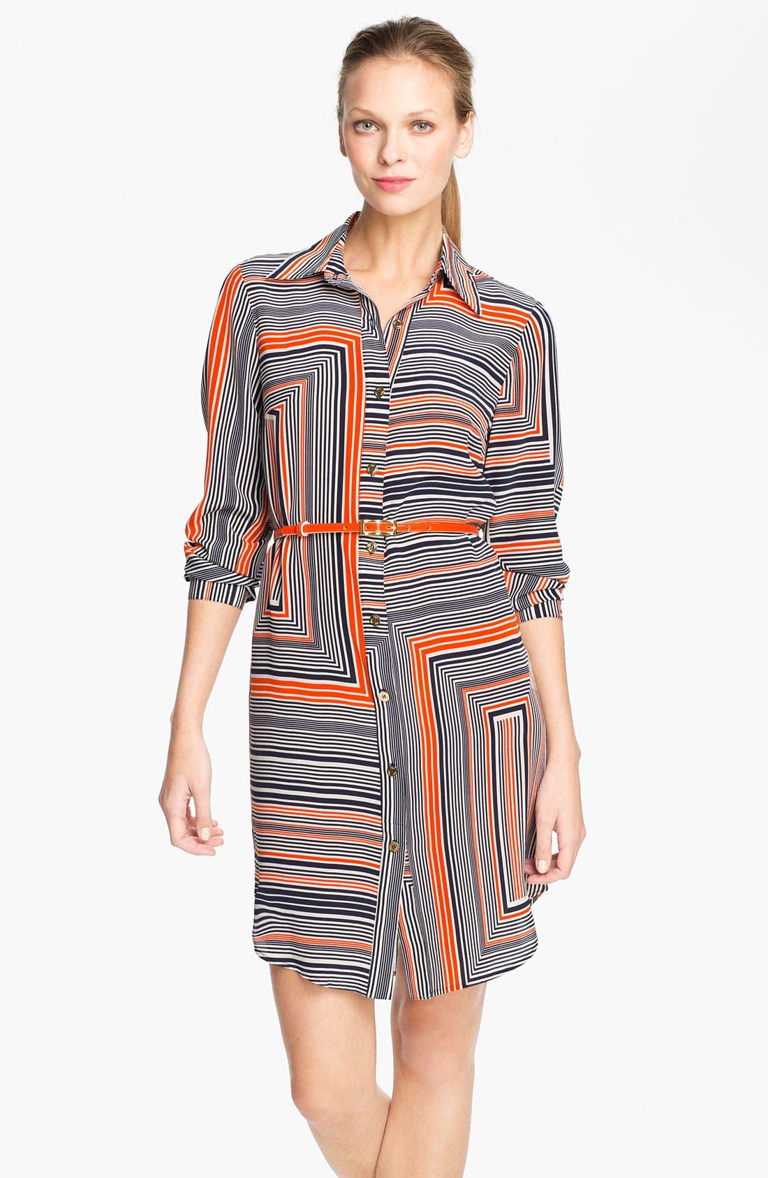 Alternate Image 1 Selected - Trina Turk 'Amazing' Silk Shirtdress