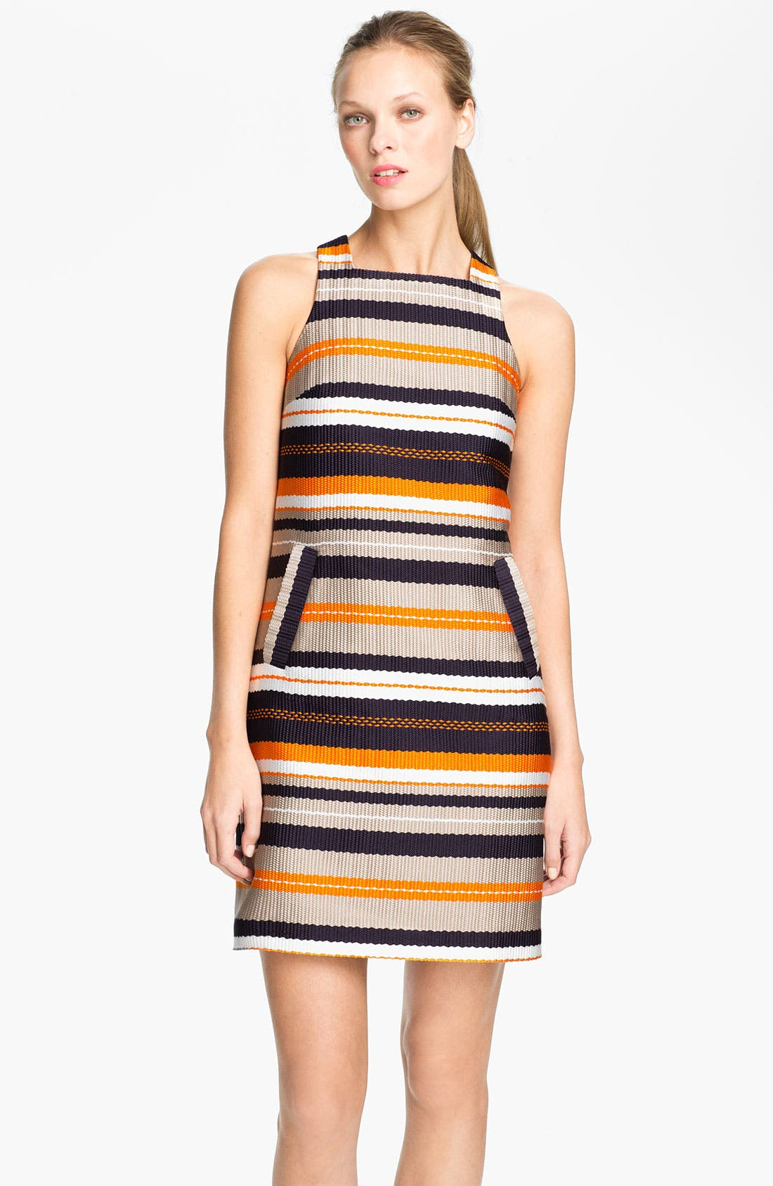 Alternate Image 1 Selected - Trina Turk 'Spiegler' Woven Shift Dress