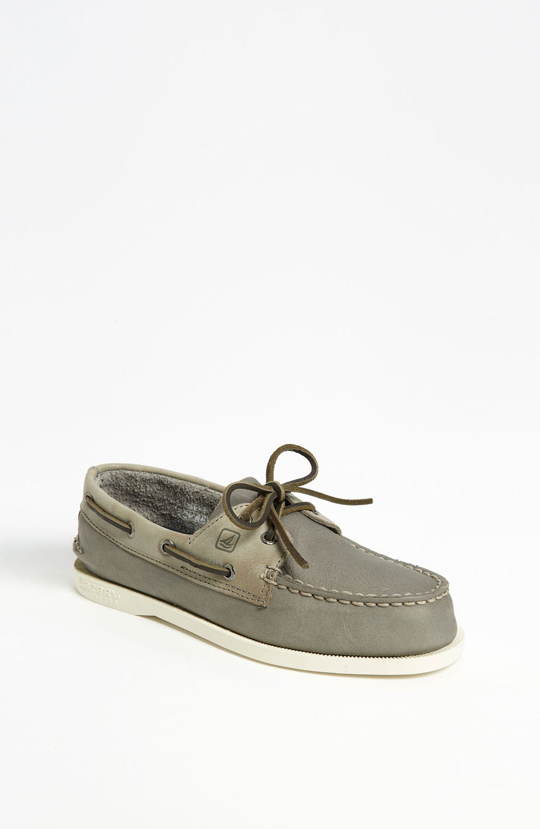 Alternate Image 1 Selected - Sperry Top-Sider® 'Authentic Original' Boat Shoe (Walker, Toddler, Little Kid & Big Kid)