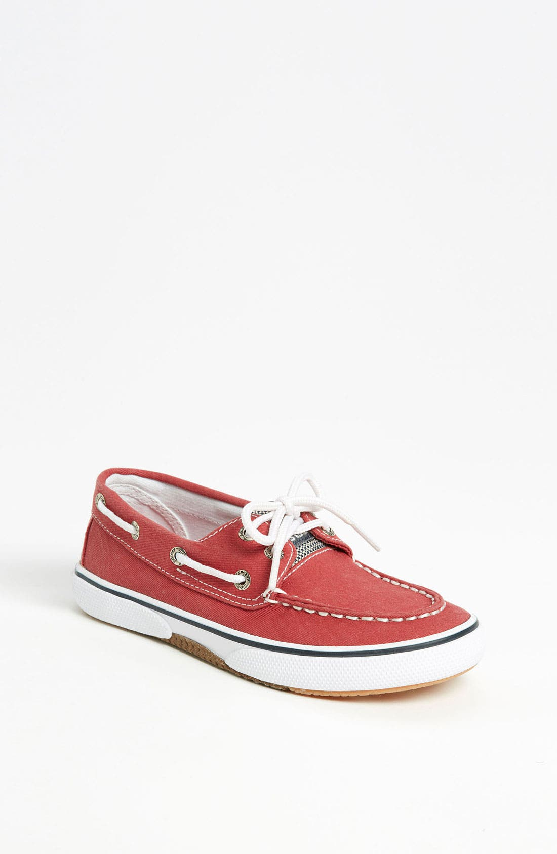 Main Image - Sperry Top-Sider® Kids 'Halyard' Boat Shoe (Walker, Toddler, Little Kid & Big Kid)