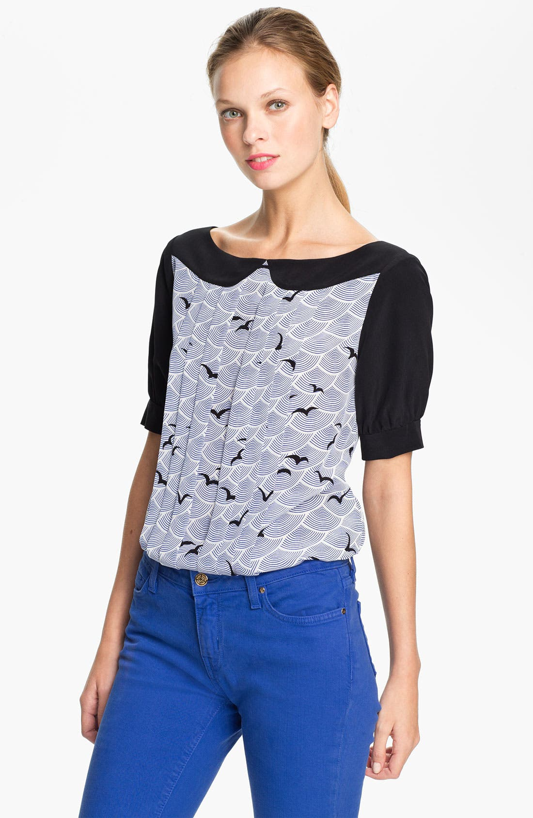 Alternate Image 1 Selected - kate spade new york 'teresa' silk top