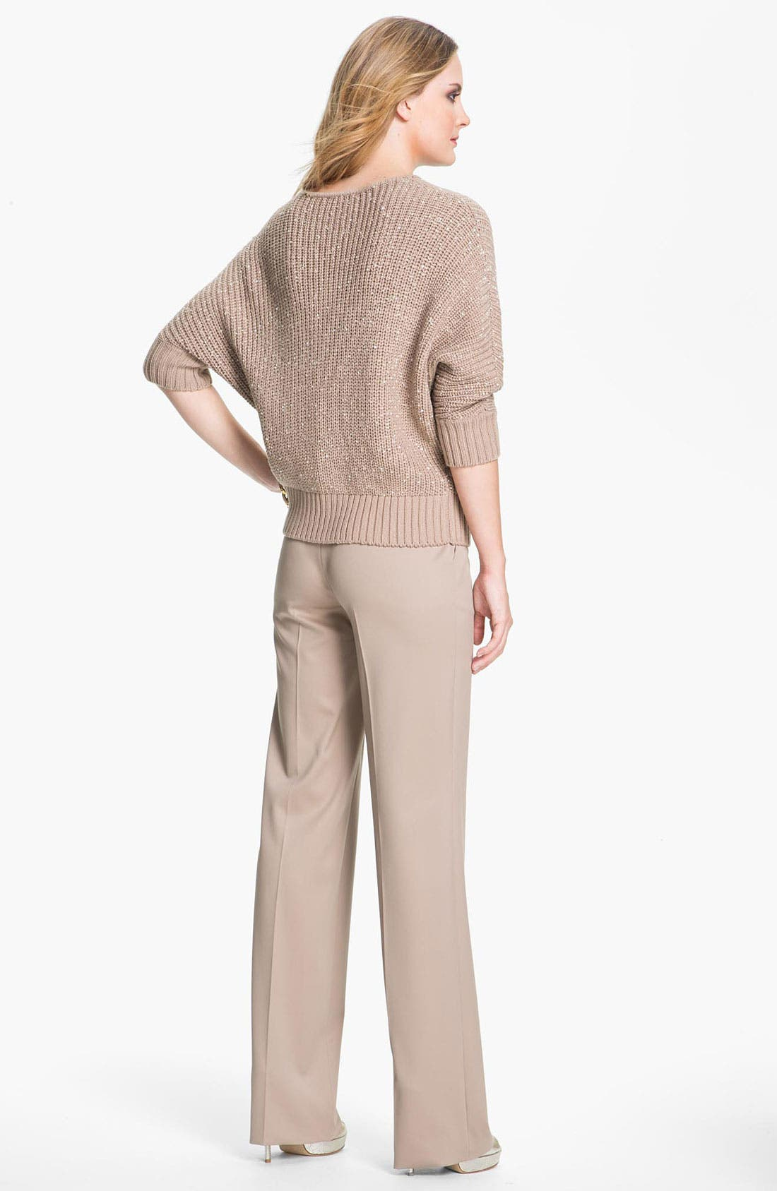 Alternate Image 4  - St. John Yellow Label Sequin Knit Sweater