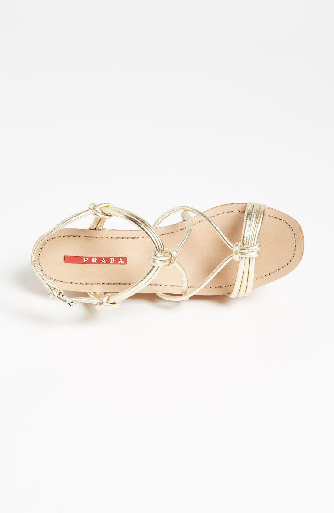 Alternate Image 3  - Prada Cork Wedge Sandal