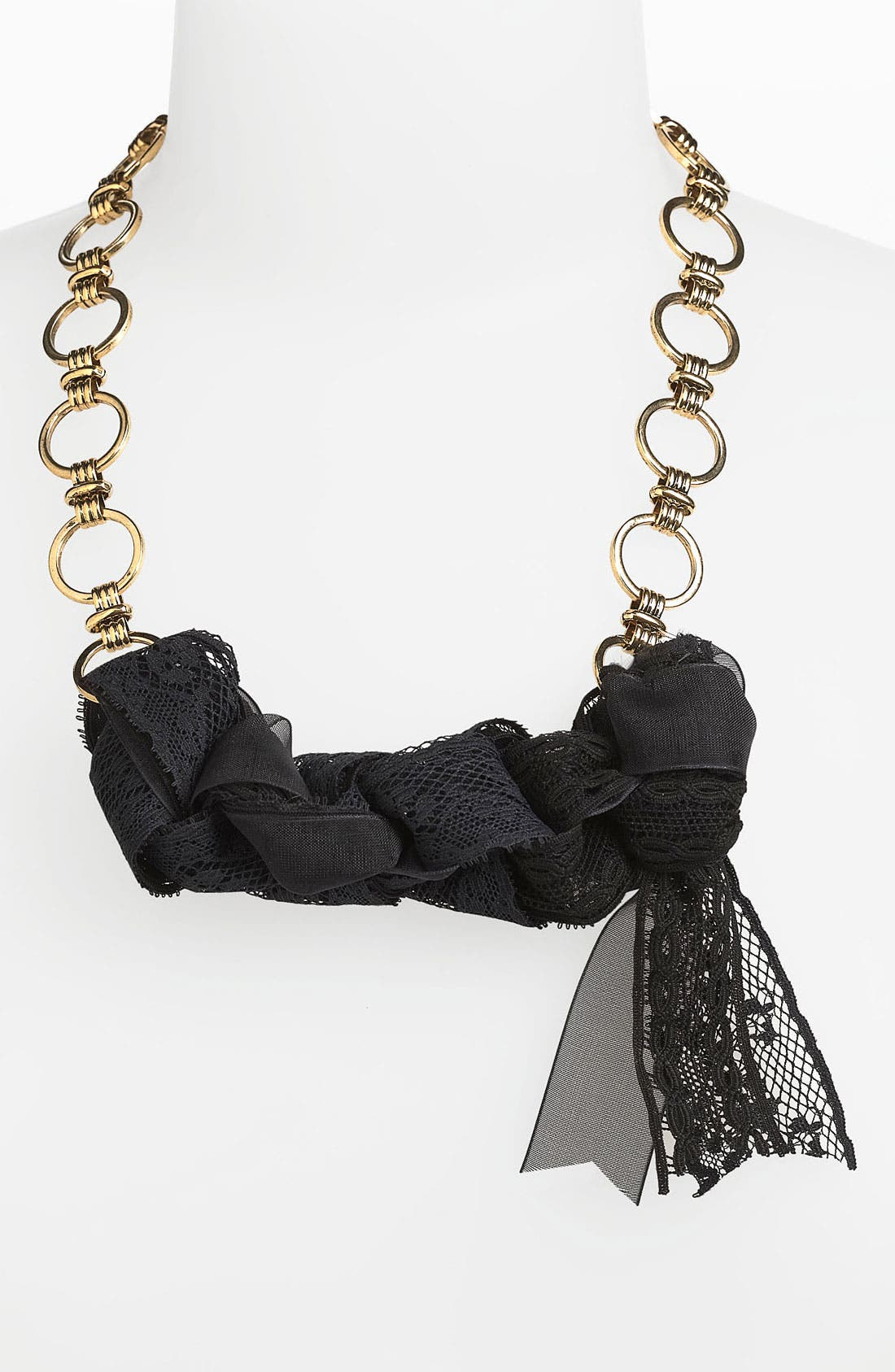 Alternate Image 1 Selected - Bonnie Jonas 'Lace & Chain' Necklace