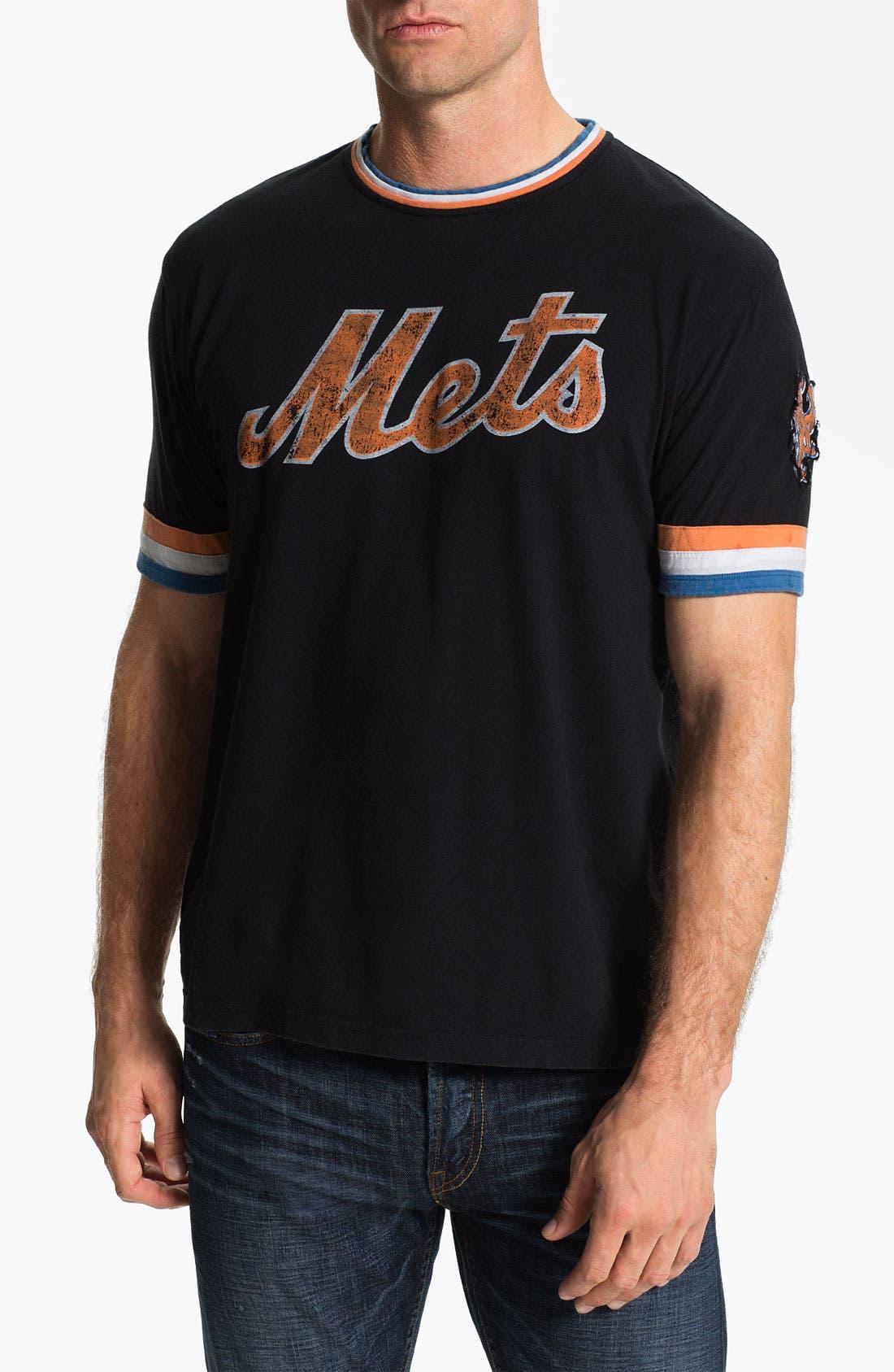 Main Image - Red Jacket 'New York Mets' Trim Fit Ringer T-Shirt (Men)